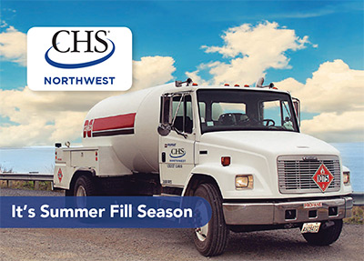 CHSNW Summer Fill Season