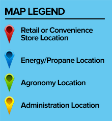 Location Map Legend